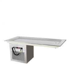 Модул хладилен равна плоча за вграждане 4 GN 1 / 1   – Модел CSGР4, DROP IN