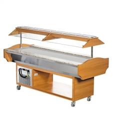 Модул хладилен равна плоча 6 GN 1 / 1 Buffet  – Модел SBMP6
