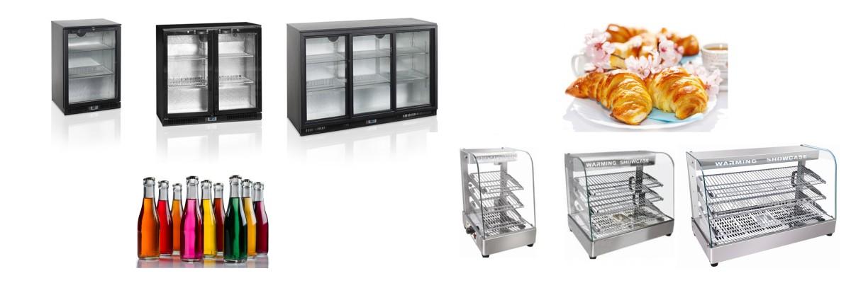 Отоплителни и хладилни витрини