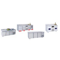 Refrigerated counters - NEGATIVE TEMPERATURE