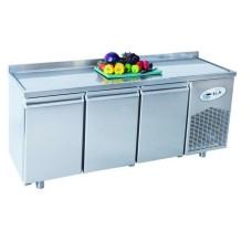 Хладилна маса нискотемпературна 3 врати,  темп.- 10°С / -20°С , 186.5х70х85 см. - Модел GM ВGL3