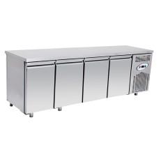 Хладилна маса нискотемпературна 4 врати,  темп.- 10°С / -20°С , 233х70х85 см. - Модел GM ВGL4