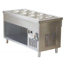 Модул студен вана 4 GN 1 / 1 върху шкаф  – Модел BTS714*