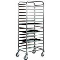 Tray holder trolley for 15 trays EN60x40 - Model GNT-15C